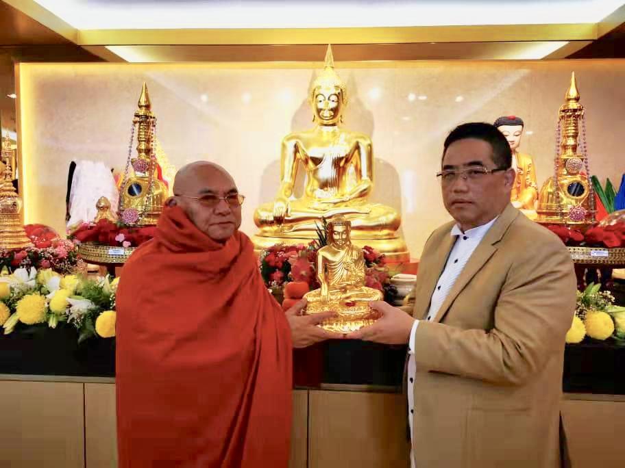 Beijing and Sri Lanka Buddha Tooth Relic Shadow Bones Consecrate WAKI Relic Musuem