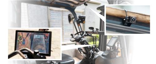 威盛Mobile360 AI叉车安全套件亮相,并进行现场演示