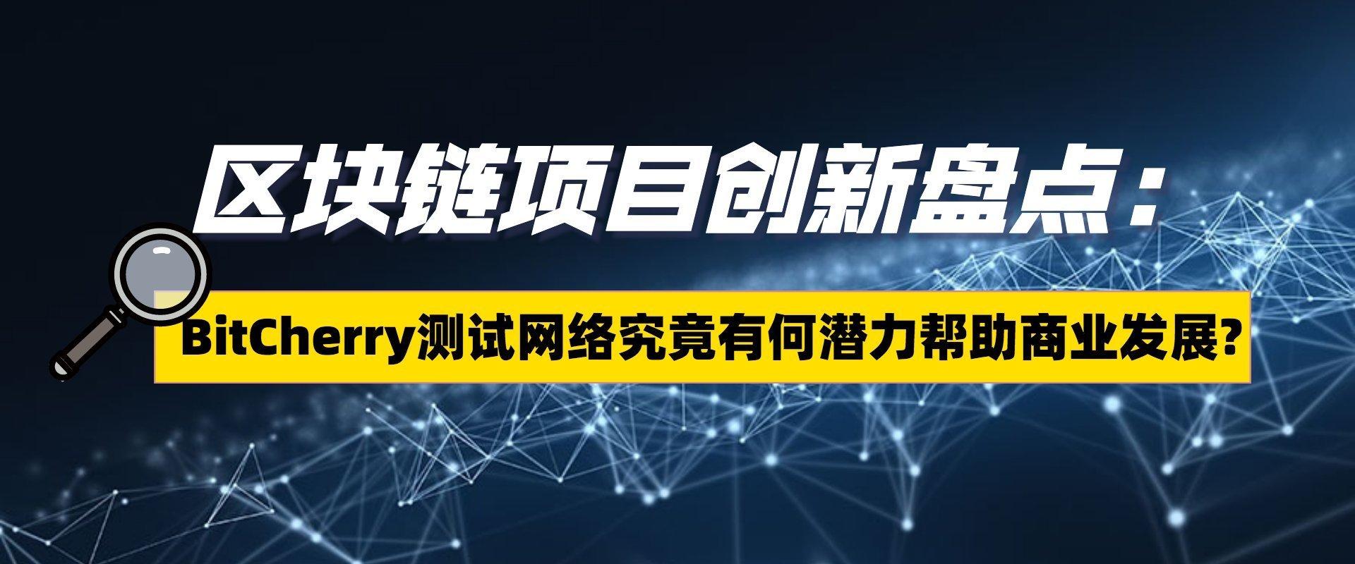 区块链项目创新盘点:BitCherry测试网络究竟有何潜力帮助商业发展?