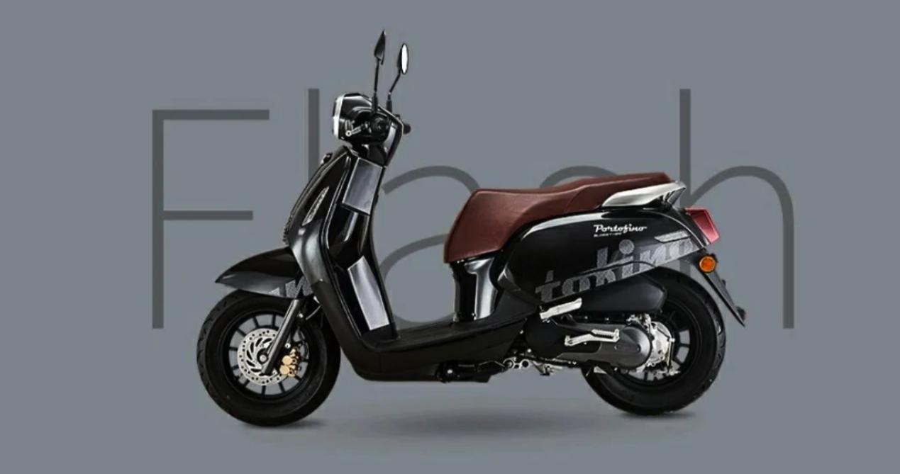 10999元,QJMOTOR欧式复古踏板菲诺 正式开售