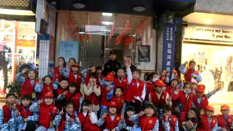 中国小记者学院开展《法制教育从小抓起》主题采访活动